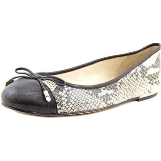 Vince Camuto Izella Women Round Toe Leather Multi Color Ballet Flats