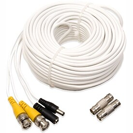 Q-See 100Ft Video and Power BNC Cable