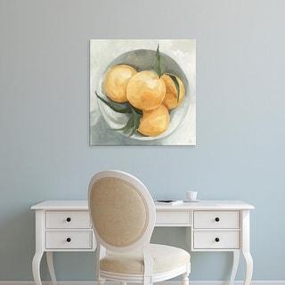 Easy Art Prints Emma Scarvey's 'Fruit Bowl I' Premium Canvas Art