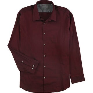 """Link to Calvin Klein Mens Temp Regulation Button Up Dress Shirt, red, 17""""-17.5"""" Neck 32""""-33"""" Sleeve - 17""""-17.5"""" Neck 32""""-33"""" Sleeve Similar Items in Shirts"""