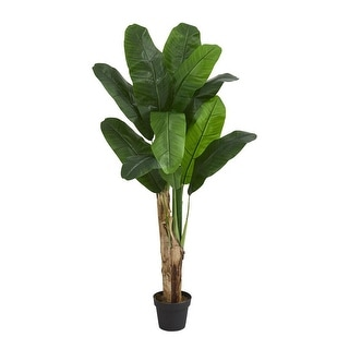 Link to Nearly Natural Decorative 4' Double Stalk Banana Artificial Faux Tree Similar Items in Decorative Accessories