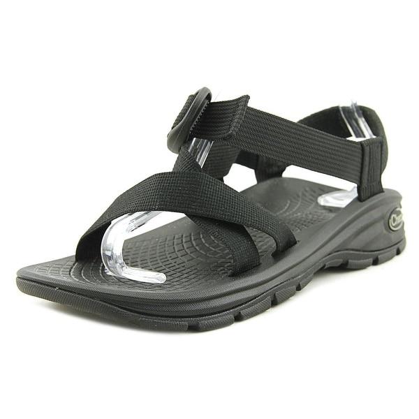 64834c3e68d Shop Chaco ZVolv Men Open-Toe Canvas Black Sport Sandal - Free ...