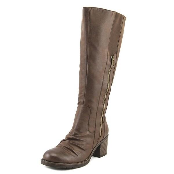 Baretraps Dallia 2 Wide Calf Women Dark Brown Boots