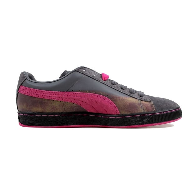 NEW Puma Suede Classic Colorburn Casual Shoes Men/'s 10.5 Gray//Purple