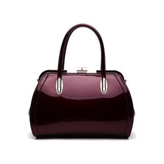 Link to MKF Collection Marlene Patent Satchel Handbag by Mia K. Similar Items in Shop By Style