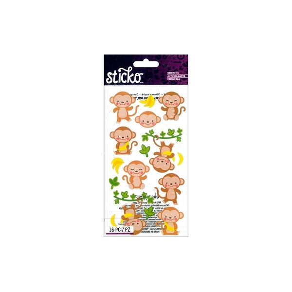 EK Sticko Sticker Dancing Monkeys