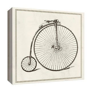 """PTM Images 9-126848  PTM Canvas Collection 12"""" x 12"""" - """"Old Bike II"""" Giclee Transportation Art Print on Canvas"""