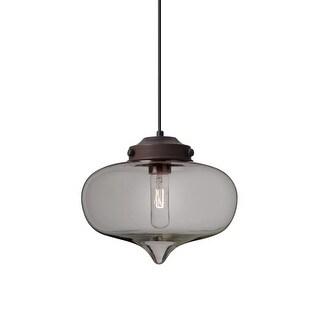 "Besa Lighting 1JT-MIRASM Mira Single Light 10"" Wide Pendant (2 options available)"
