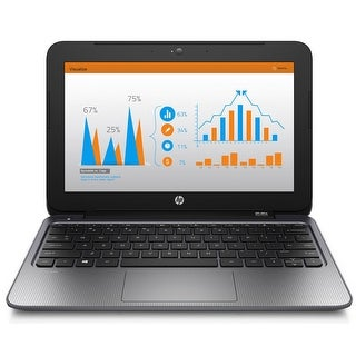 HP Stream 11 Pro Intel Celeron N2840 2.16 GHz 2 GB 32GB SSD 11.6 Inch Win 10 Pro Refurbihsed