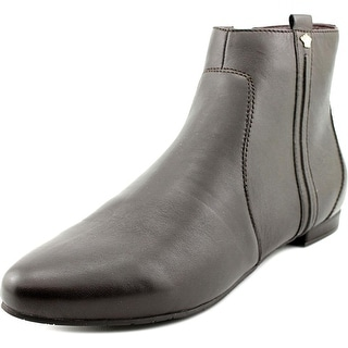 Nina Wise Women Pointed Toe Leather Brown Bootie