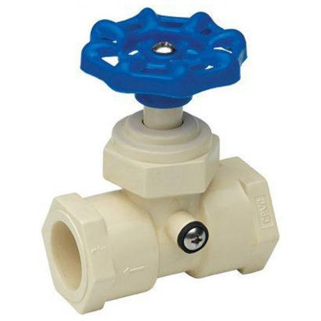 Homewerks VSWCPVE4B CPVC Stop & Waste Valve With Drain Cap, 3/4