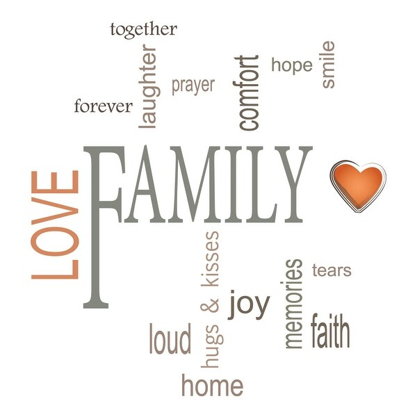 Shop Brewster Cr 62235 Family Wall Quotes Na Free Shipping On