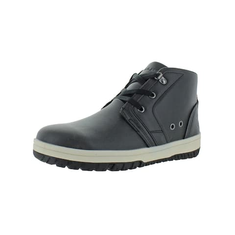 U.S. Polo Assn. Mens Chukka Boots Faux Leather Ankle