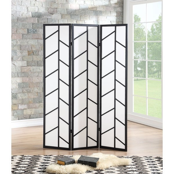 Shop Costway 3 Panel Room Divider Folding Privacy Climbing Screen