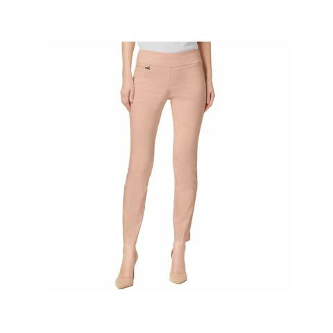 ALFANI Womens Orange Skinny Wear To Work Pants Size 10