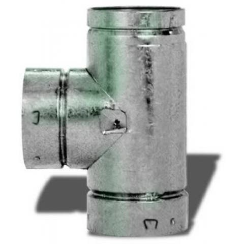 """Selkirk 104100 Round Type B Gas Vent Tee, 4"""", 4RV-TS"""