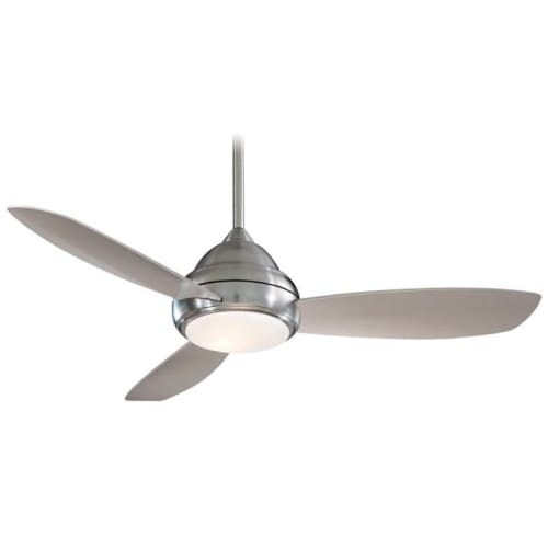 "MinkaAire Concept I 52 3 Blade 52"" Concept I Indoor Ceiling Fan - Integrated Light, Handheld Remote Control and Blades Included"