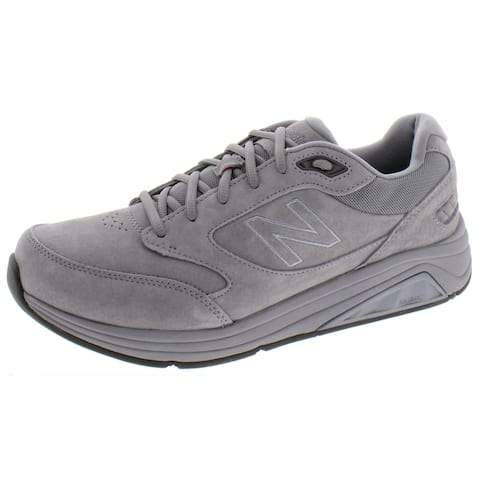New Balance Mens 928V3 Walking Shoes Suede Performance - Grey