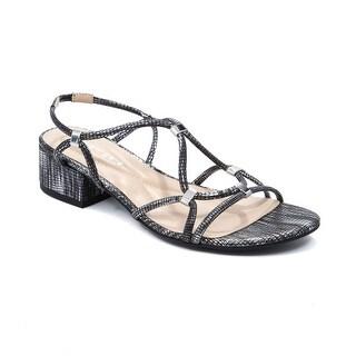 Andrew Geller Kernie Women's Sandals & Flip Flops Black/Silver
