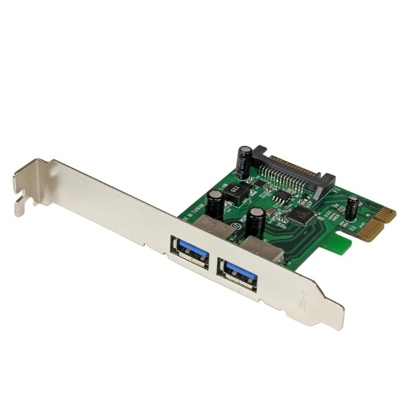 Startech 2 Port Pci Express Superspeed Usb 3.0 Card Adapteruasp-Sata Pexusb3s24