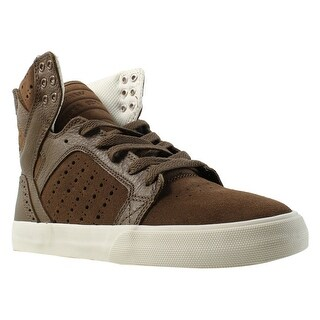 Supra Womens Skytop Brown/Brogue/Bone Fashion Shoes Size 9.5