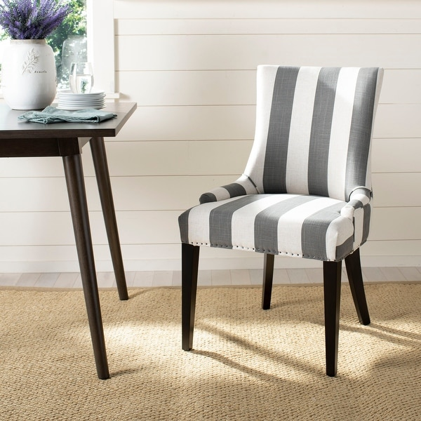 "Safavieh Dining Becca Grey Dining Chair - 22"" x 24.8"" x 36.4"". Opens flyout."