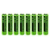 Replacement Panasonic KX-TGA402 NiMH Cordless Phone Battery - 630mAh / 1.2v (8 Pack)