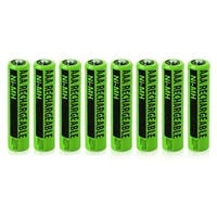Replacement Panasonic NiMH AAA Battery for KX-TG4053B /KX-TG7734S /KX-TGE240B Phone Models- 8Pk