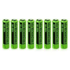 Replacement Panasonic KX-TGA106M NiMH Cordless Phone Battery - 630mAh / 1.2v (8 Pack)