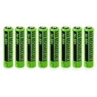 Replacement Panasonic NiMH AAA Battery for KX-TG4223B /KX-TG7844S /KX-TGE263B Phone Models- 8Pk
