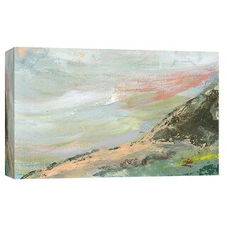 """PTM Images 9-101911  PTM Canvas Collection 8"""" x 10"""" - """"Landscape Study 4"""" Giclee Abstract Art Print on Canvas"""