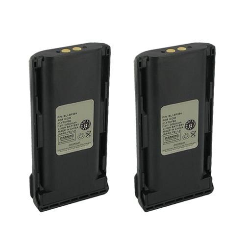 """""""Battery for Icom BP254 (2-Pack) Battery for Icom BP-254"""""""