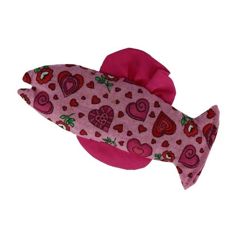 Ascentix Organic Catnip Catfish Cat Toy - one size
