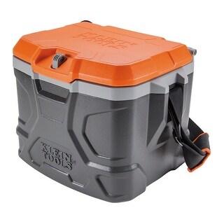 Klein Tools 55600 Tradesman Pro Tough Box Cooler 17-Qt, Keep Cool 30 Hours