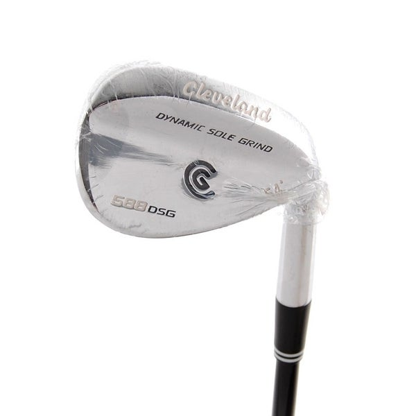 New Cleveland 588 DSG Chrome Wedge 54* ProLaunch Graphite Uniflex Shaft RH