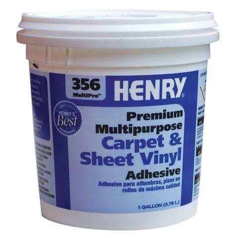 HENRY 12072 MultiPro Premium Multipurpose Flooring Adhesive, #356, 1-Quart