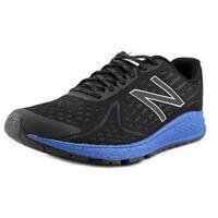 New Balance MRUSH Men  Round Toe Synthetic Black Running Shoe