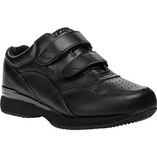 Propet Women's Tour Walker Strap Shoe Black