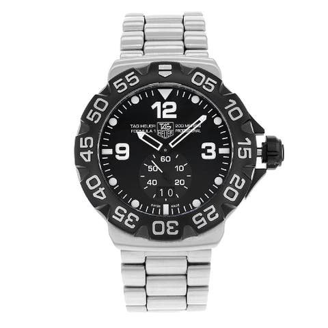 Tag Heuer Men's WAH1010.BA0860 'Formula 1' Grande Stainless Steel Watch