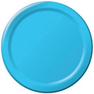 """Pastel Blue - Luncheon Plates 7"""" 24/Pkg"""