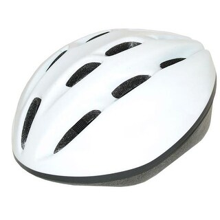 Cycle Force Group 15011 Adult Bicycle Helmet -White