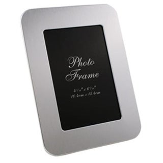 Visol VAC616 Zafina Brushed Aluminium Photo Frame