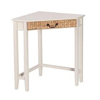 Southern Enterprises HO6742 Panama Corner Desk - White