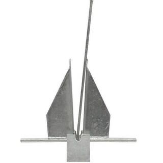 Danielson Galvanized Fluke Anchor - 4 Lbs. AFLUKEG4