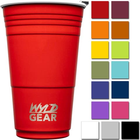 Wyld Gear 16 oz. Vacuum Insulated Stainless Steel Party Cup Tumbler - 16 oz.