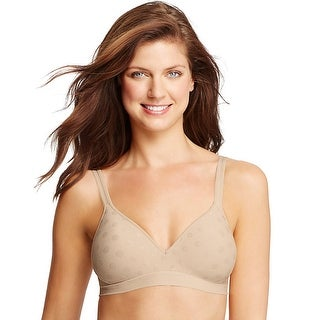 Hanes Perfect Coverage ComfortFlex Fit Wirefree Bra - 3XL