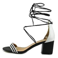 Daya by Zendaya Womens Salem Open Toe Casual Ankle Strap Sandals