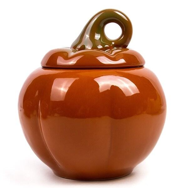 STP Goods 10.1-Ounce Pumpkin Stoneware Ramekin. Opens flyout.