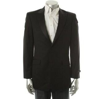 Tommy Hilfiger Mens Brooks Wool Long Sleeves Tuxedo Blazer - 38L