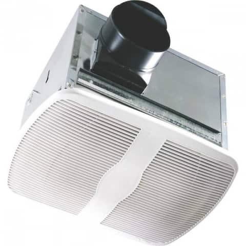 Air King AK80H Humidity Sensing Exhaust Fan, 80-CFM, White